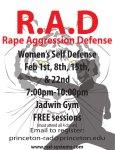 Image of a flyer for the princeton university rad program