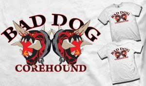 Corehound logo shirt
